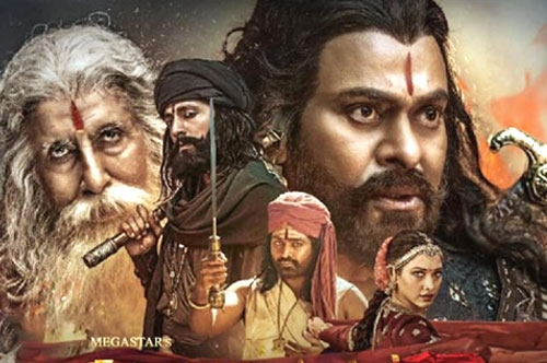 sye raa movie official trailer