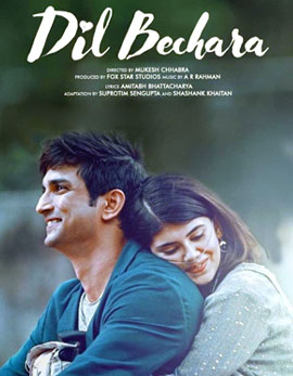 Sushanth Singh Rajput's Dil Bechara Movie Review
