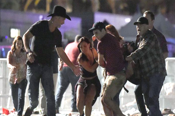 Las Vegas Shooting Photos