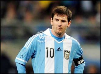 Messi double knock boosts Argentina