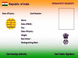 Aadhar card issued under the name Coriander