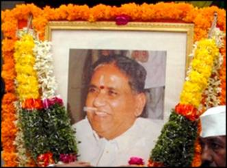 Former Minister Marri Chenna Reddy Paid Homage