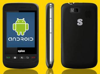 Spice rolls out Android phone
