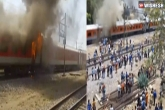 AP Express, AP Express news, fire breaks out in ap express, Visa
