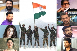 Celebrities Pay Tribute To Martyred Indian Soldiers