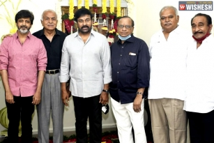 Chiranjeevi's Lucifer Remake Launched