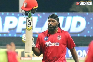 Chris Gayle loses cool after dismissal on 99: Fined High