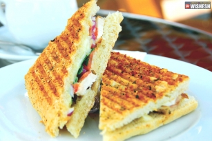 Grilled Eggplant Panini- Tiffin, you can't stop thinking about
