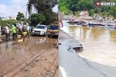 Hyderabad roads updates, Hyderabad roads, hyderabad rains take a heavy toll on the roads, Hyderabad roads