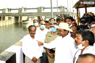 KCR Plans A New Barrage On Godavari River