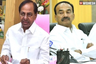 KCR takes over Health Portfolio from Etala Rajendar