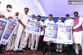 Telangana government, KCR, ktr launches free drinking water scheme in hyderabad, Telangana