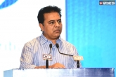 KTR slams Centre, KTR slams Centre, ktr slams centre over the railway coach factory for telangana, Ktr