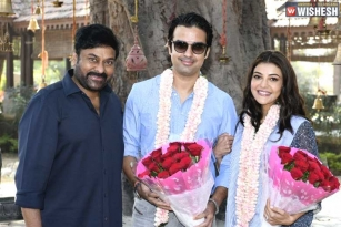 Kajal joins the sets of Chiranjeevi's Acharya