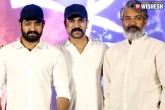 SS Rajamouli, RRR shoot news, ntr and charan s shock for rajamouli, Ram charan