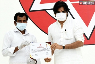 Pawan Kalyan Introduces Special Insurance Cover For Janasena Party Workers