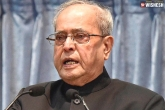Pranab Mukherjee Tested Positive With COVID-19