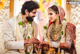 Rana Daggubati And Miheeka Tie The Knot