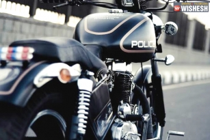Royal Enfield Bullets For Hyderabad Police