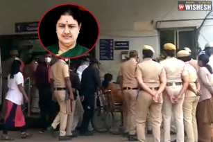 Sasikala rushed to a Bengaluru Hospital