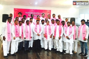 TRS-USA Logo Has Statue Of Liberty Symbol For Assembly Polls?