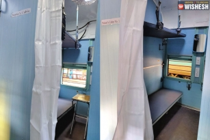 Indian Railways Convert Train Coaches Into Isolation Wards