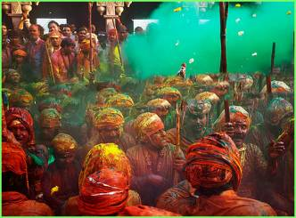 Lath mar Holi ...unity of humanity through the Festival of Colours...
