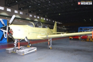 HAL rolls out first HTT-40 basic trainer