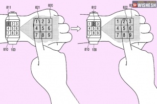 Samsung applies for smartwatch patent