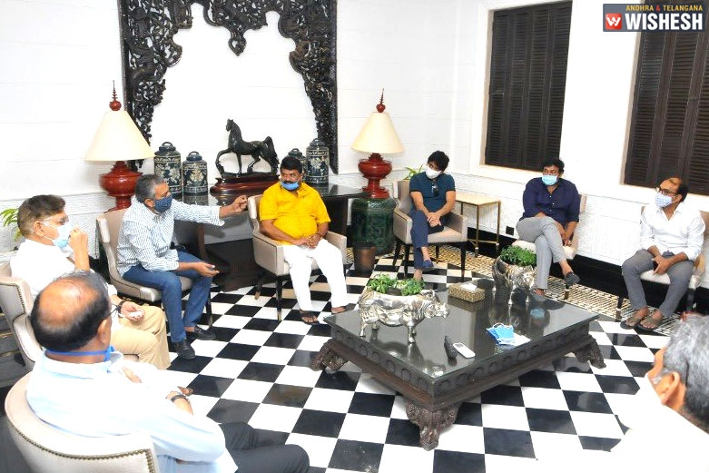 Tollywood Celebrities Meet For A Crucial Discussion
