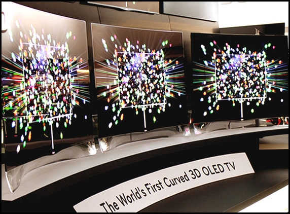 First Curved TV and Smart Phones from LG